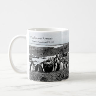 Shackleton's Nimrod Gramophone Music for Penguins Coffee Mug