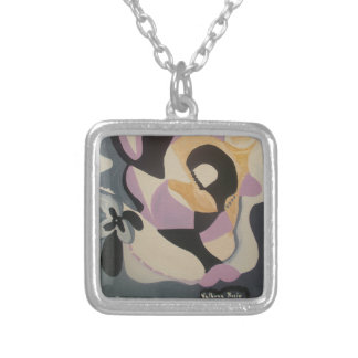 Shade Silver Plated Necklace