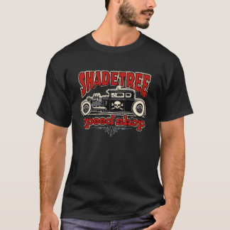 Shade Tree Speed Shop Shot Rod T-Shirt