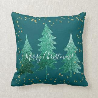 Shaded Spruce Merry Christmas Cushion