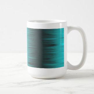 Shaded Turquoise Aqua Classic Mug Basic White Mug