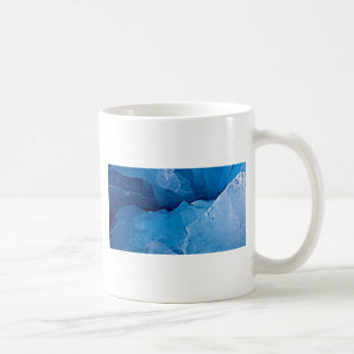 Shades of blue border template coffee mug