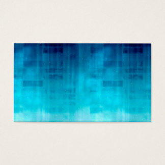 Shades of Blue business card