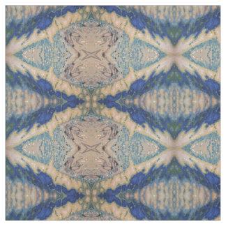 Shades of Blue, Grey & Beige 'San Fransisco' Fabric