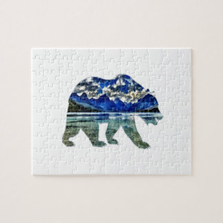 Shades of Blue Jigsaw Puzzle