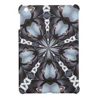 Shades of Blue Kaleidoscope iPad Mini Cover