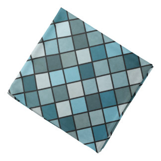 Shades of blue kerchief