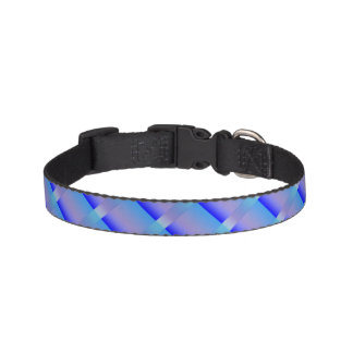 Shades of Blue Pet Collar