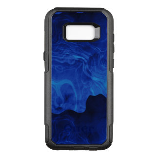 Shades of Blue Smoke OtterBox Commuter Samsung Galaxy S8+ Case