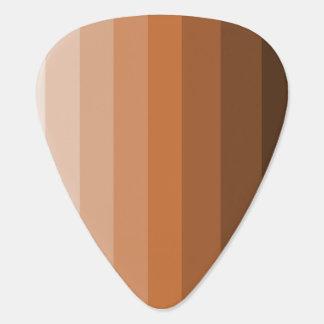 Shades of Brown Guitar Picks