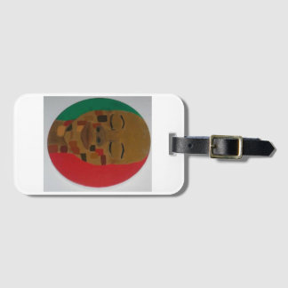 """Shades of Brown"" - Luggage Tag"