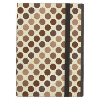 Shades Of Brown Polka Dots Cover For iPad Air