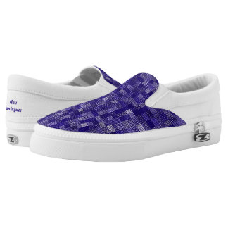 Shades Of Concord Grape Slip-On Shoes