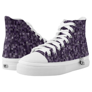 Shades Of Eggplant High Tops