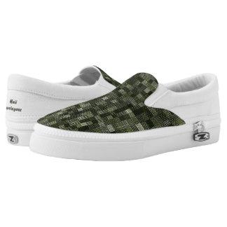 Shades Of Feldgrau Slip On Shoes