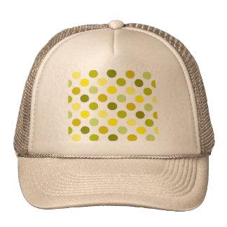 Shades of Gold Polka Dots Trucker Hat