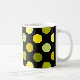 Shades of Gold Polka Dots Coffee Mug