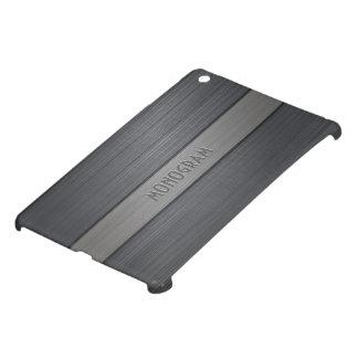 Shades Of Gray Metallic Brushed Aluminum Look iPad Mini Case