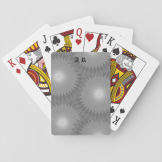 Shades of Gray Playing Cards