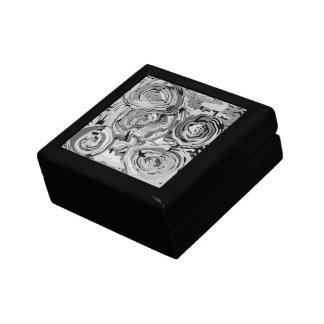 Shades of Gray Trinket Keepsake  Organizer Boxes