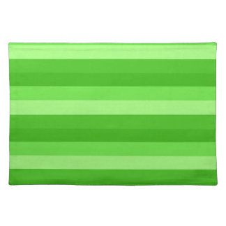 SHADES OF GREEN cloth placemat