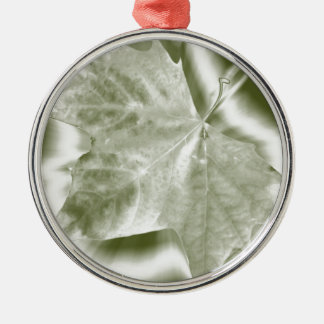 shades of green metal ornament