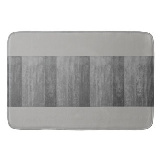 Shades of Grey Ombre Striped Bath Mat