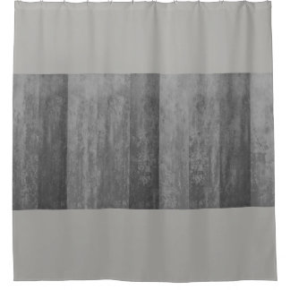 Shades of Grey Ombre Striped Shower Curtain