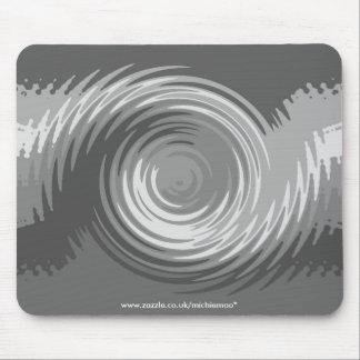 Shades of Grey Ripple Mousemat