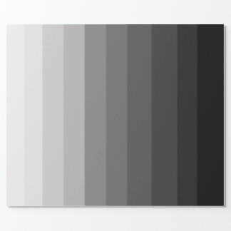 Shades of Grey Wrapping Paper