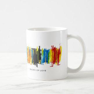 Shades of love basic white mug