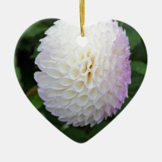 Shades of Pearl Ceramic Heart Decoration