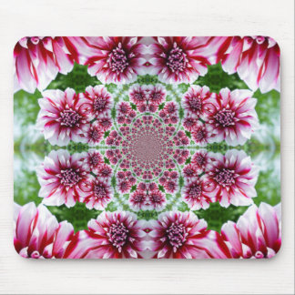 Shades of Pink Flowers Mousepad