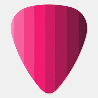 Shades of Pink Guitar Picks Guitar Pick