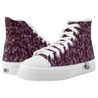 Shades Of Plum High Tops