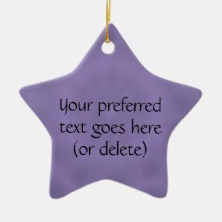 Shades of Purple Customizable Ornament