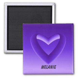 Shades of Purple Gradient Magnet