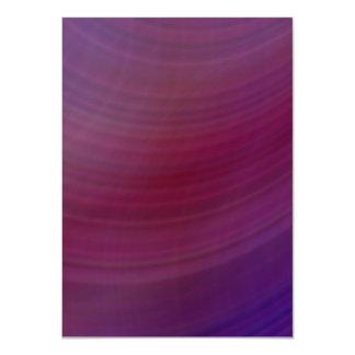 Shades of purple 11 cm x 16 cm invitation card