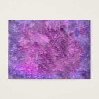 Shades of purple textured business card