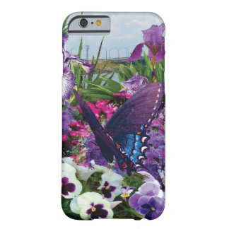 shades of purple with butterfly phone case