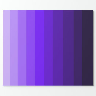 Shades of Purple Wrapping Paper