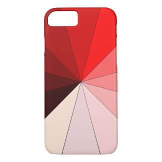 shades of red iPhone 8/7 case