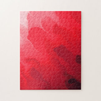 Shades of Red Mix Jigsaw Puzzle