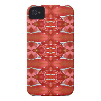 Shades Of Red Modern Festive Design Case-Mate iPhone 4 Case