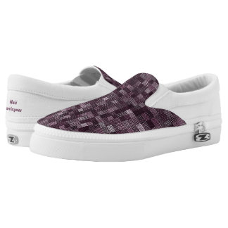 Shades Of Seagrape Slip-On Shoes
