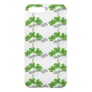 Shadow 4-Leaf Clover iPhone 7 Plus Case