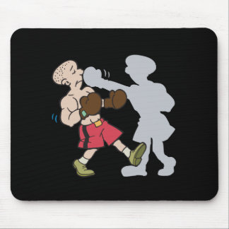Shadow Boxing Mouse Pad