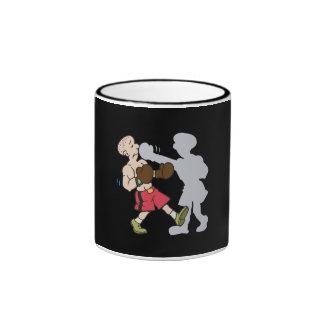 Shadow Boxing Ringer Mug