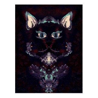 SHADOW CAT ~ POSTCARD
