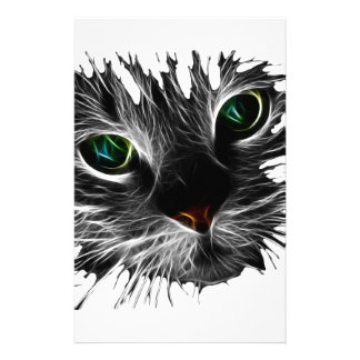 Shadow Cat Stationery